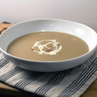 Roasted Chestnut and Apple Soup