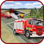 Firefighter Emergency Truck Icon