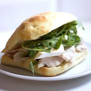 Smoked Turkey & Brie Sandwich