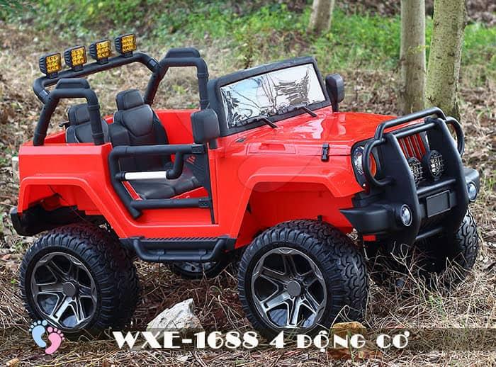 Ô tô điện cho bé WXE-1688 khủng với 4 động cơ 6
