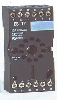 Reläsockel 11-polig, ES-12