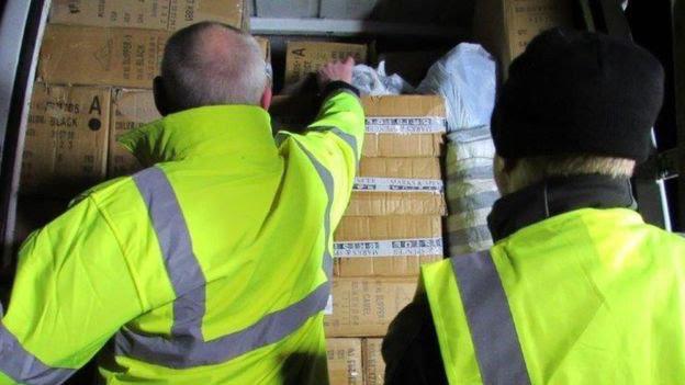 1,500 items seized over Xmas