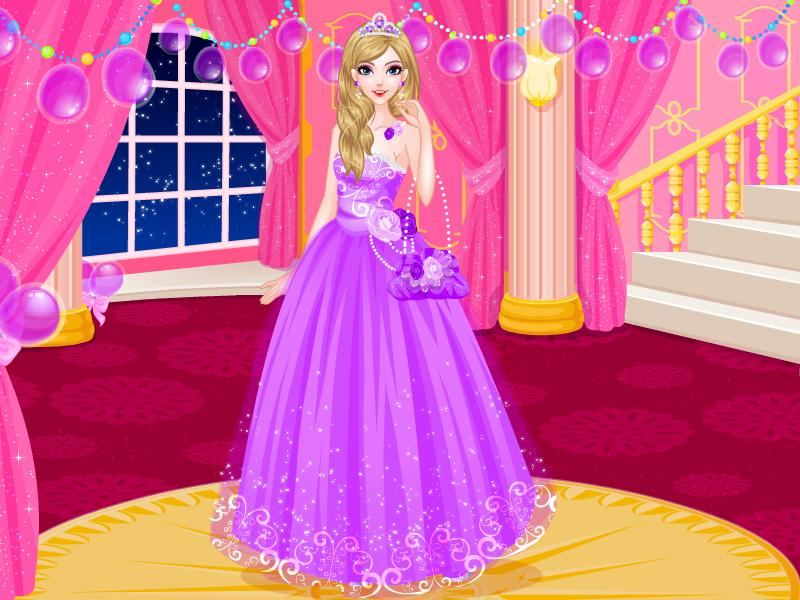 Princess Birthday Party Dress Up Games 100