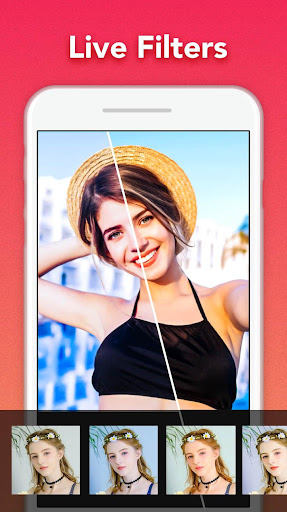 Selfie Camera: Beauty Camera, Photo Editor,Collage  screenshots 2