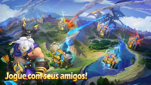 Castle Clash: Pelotu00e3o Valente  screenshots 5