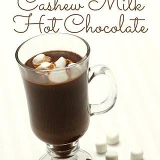 Cashew Milk Hot Chocolate