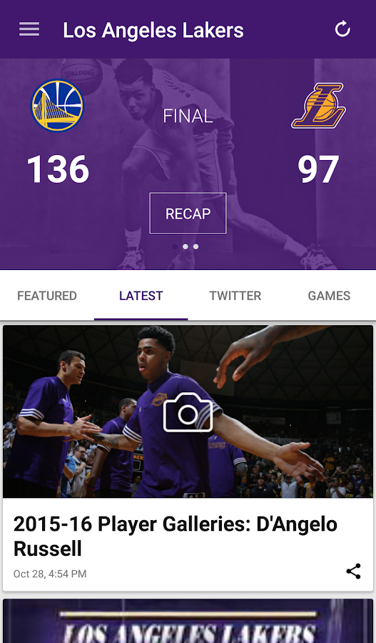 Los Angeles Lakers- screenshot