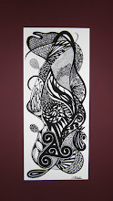 Photo: 001 GENESIS oil-based ink 18 x 7.75 in. matted artist's print #1 - $150 SOLD