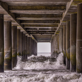 Under the Boardwalk by Diane Ljungquist - Buildings & Architecture Bridges & Suspended Structures ( thanks so much )
