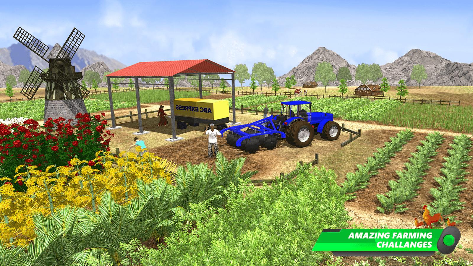 Farm Sim 2018: Modern Farming Master Simulator 3D ...