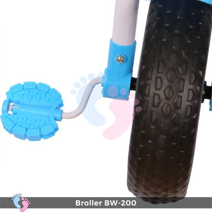 Xe đạp 3 bánh Broller XD3-200 có cây đẩy 12