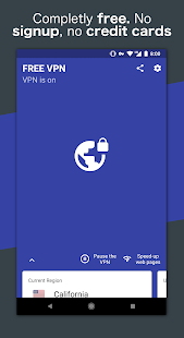 Free VPN - Safe and private browsing on a hotspot - náhled