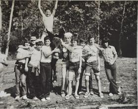 Photo: En la Jira con burro. Proveedor: Julia González Izquierdo. Año: 1974.