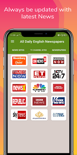 All Daily English Newspaper India in a app Epaper 16.0 screenshots 2