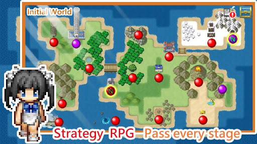 Unlimited Skills Hero - Strategy RPG screenshots 5