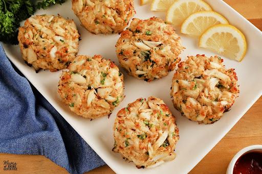 Gluten-Free Crab Cakes {Dairy-Free}