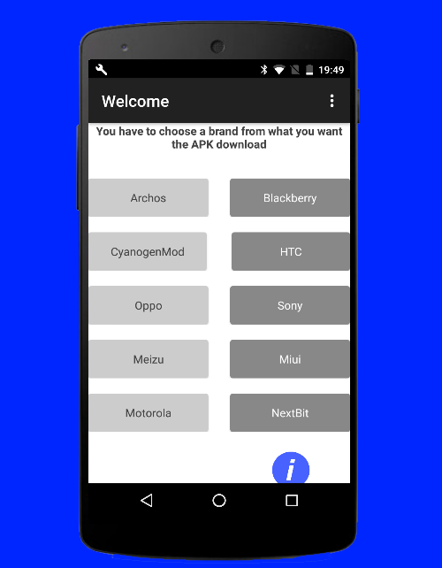 PortedApp- screenshot