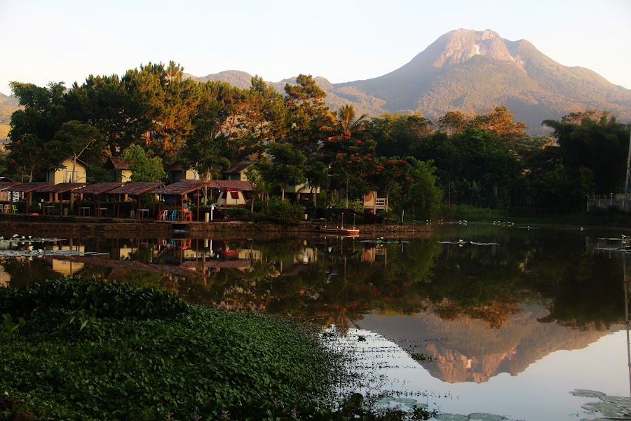 Mt. Apo Mirror by JP Benjamin Fortinez - Novices Only Landscapes