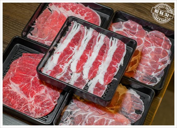 井兵衛壽喜燒肉類拼盤
