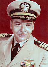 Photo: Captain G.H. Duffy USN Commanding Officer, NAAS Chase Field. 1958-1959