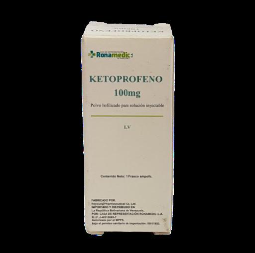 Ketoprofeno Ronamedic 100mg Solucion Inyectable Ronamedic