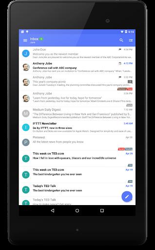 Nine Work for Android Enterprise 4.1.7h screenshots 11