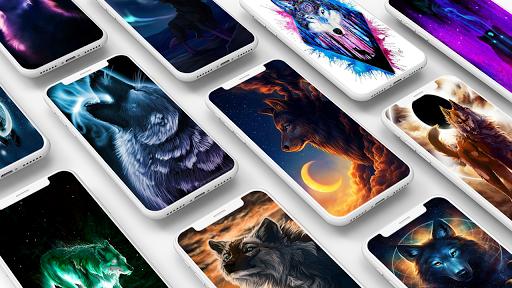 Galaxy Wild Wolf Wallpapers 1.0 screenshots 1