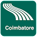 Coimbatore Map offline Icon