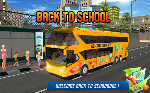 School Bus Driver Simulator 2018: City Fun Drive 1.0.2 screenshots 1