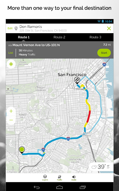 #18. MapQuest GPS Navigation & Maps (Android)