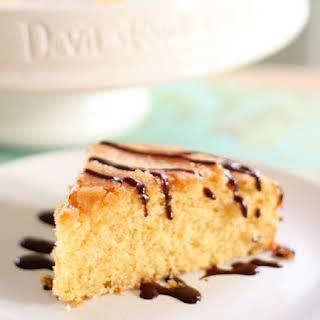 Honey and Orange Cornmeal Cake.