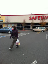 Photo: All done at Safeway. We have a couple more stops. Want to come along?