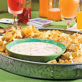 Spicy White Cheese Dip.