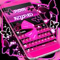 Love Pink Keypad icon