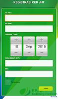 Screenshot of BPJSTK Mobile
