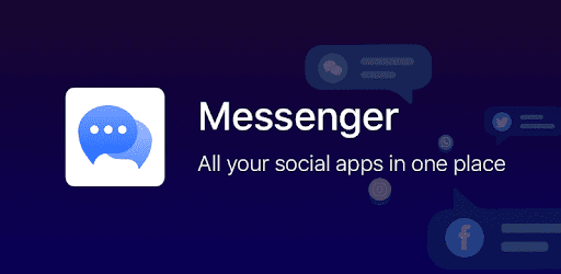 Quick access all your social App, chat with friends and family by one-click.