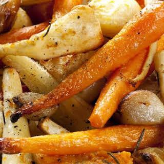 Roasted Root Vegetables.