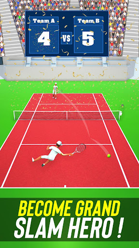 Tennis Fever 3D: Free Sports Games 2020 android2mod screenshots 2