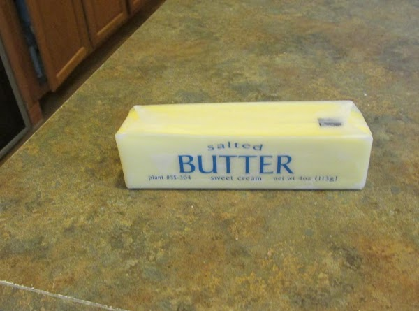 Add Melted butter.