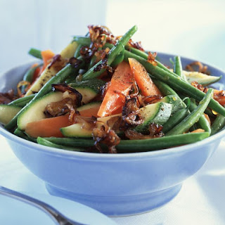 Mixed Vegetables with Crispy Shallots