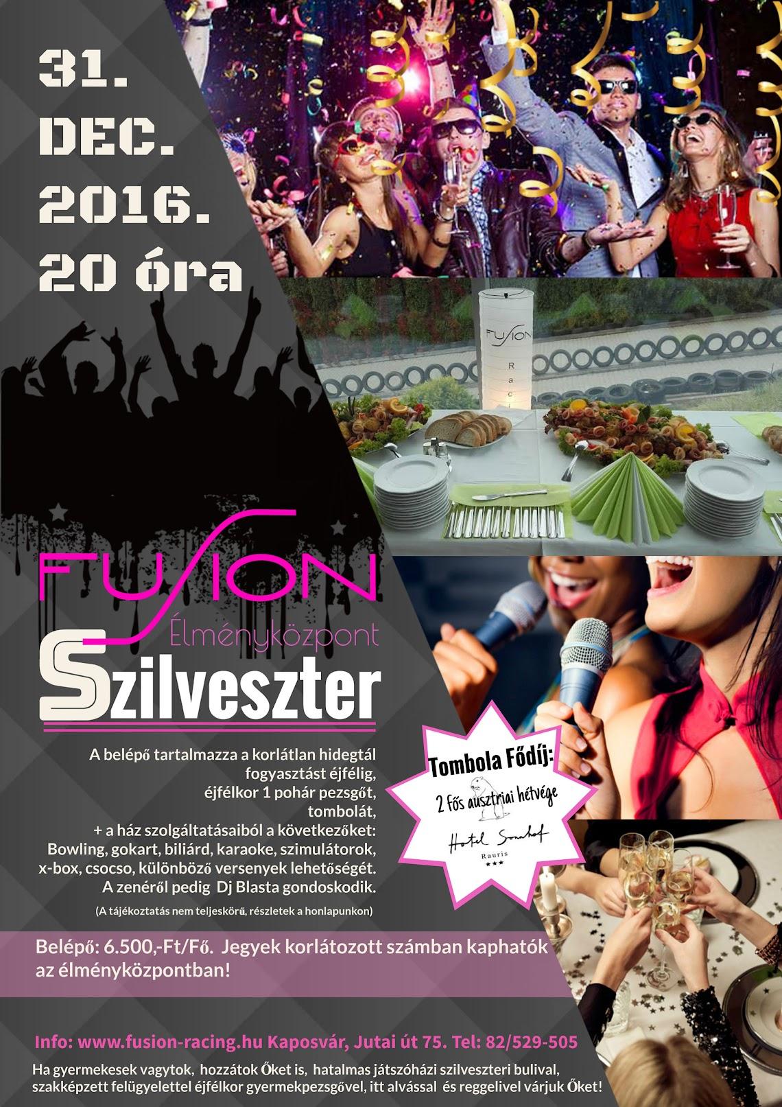 Fusion Szilveszter Kaposvár 2016