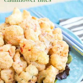 Bang Bang Cauliflower Bites