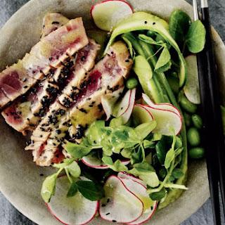 Radish And Tuna Salad With Wasabi Dressing