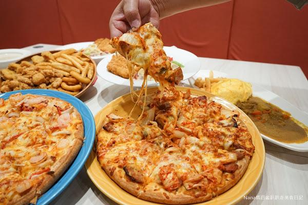 湖口50Pizza焗烤美食專賣店 聚餐謝師宴的好地方 壽星優惠(文附菜單)