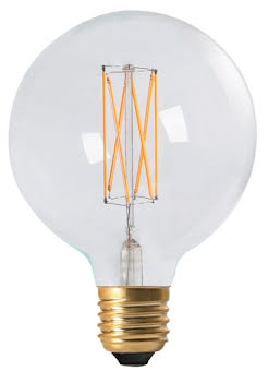 PR Home Elect LED Filament Globe 95 mm Klar - lavanille.com