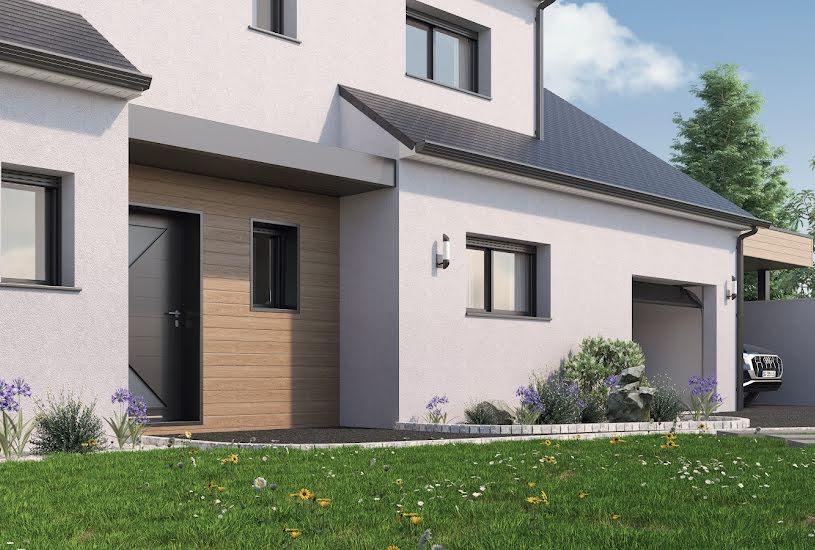 Vente Terrain + Maison - Terrain : 413m² - Maison : 145m² à Nivillac (56130)