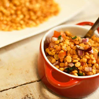 Chatpati Channa Dal Recipe (Chaat).