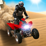 4x4 Off-Road Desert ATV Icon