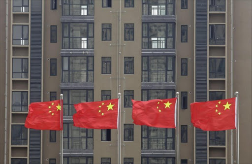China flags. Picture: REUTERS