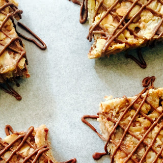 Chewy Chocolate Peanut Butter Granola Bar Treats